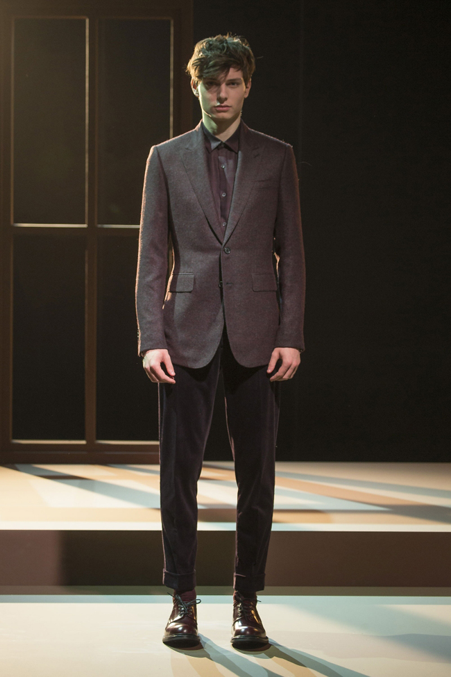 Cerruti Fall/Winter 2016-2017 - the original codes of masculine elegance