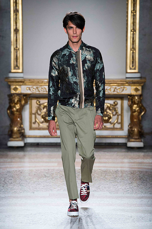 Christian Pellizzari Spring-Summer 2016 menswear collection