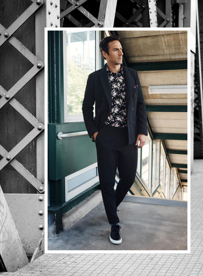 Club Monaco with new arrivals for the upcoming autumn 2016