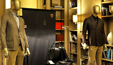 Automobili Lamborghini presented its 2016-2017 Fall-Winter collection at Pitti Uomo