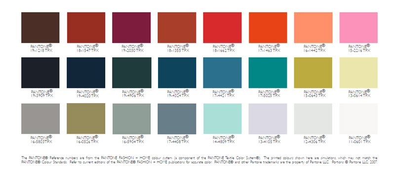 fashion color trends for fall winter 2017 2018