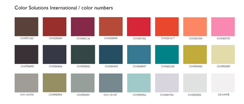 Fashion color trends for Fall-Winter 2017/2018