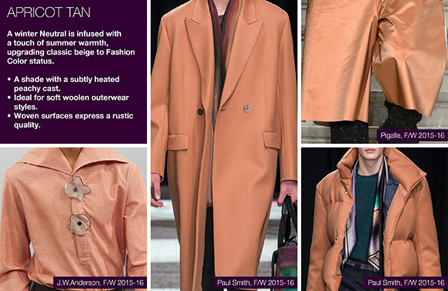 Fall-Winter 2016/2017 Fashion trends: Key menswear colors