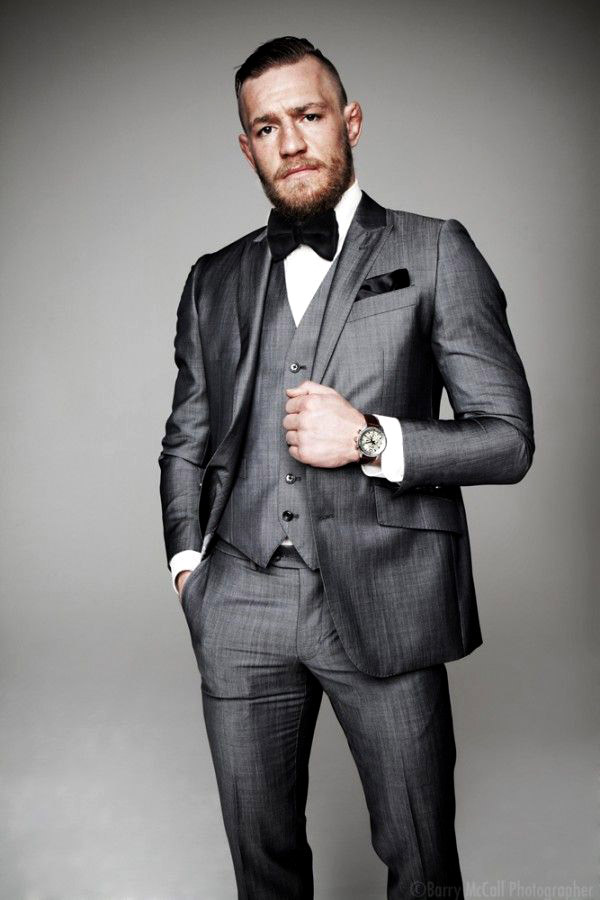 Conor McGregor - the stylish Irish MMA fighter