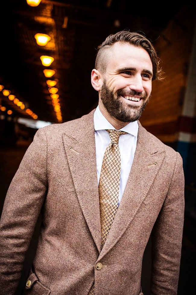 Canadian custom made suits by Curtis Eliot