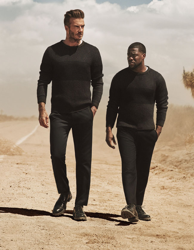 David Beckham and Kevin Hart reunite for a road trip in new H&M campaign