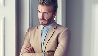 David Beckham in the new Modern Essentials campaign for H&M
