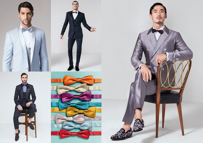Technicolour Tailoring by Dolce and Gabbana
