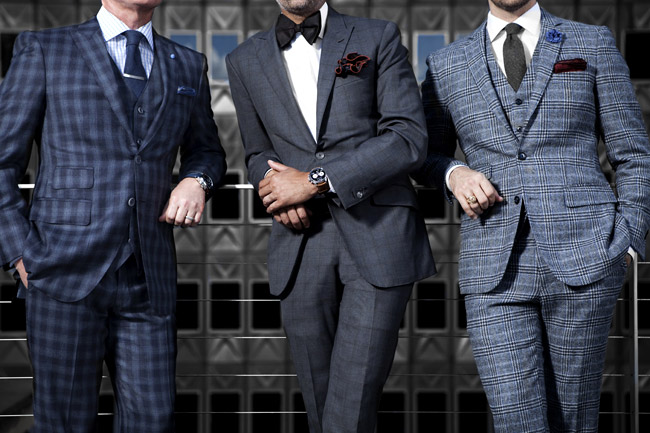 Luxury Bench-Made Suits and Jackets for Men by D.Jones Clothiers