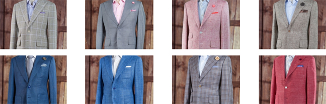D.Jones - 100% bench-made custom made garments from Dallas