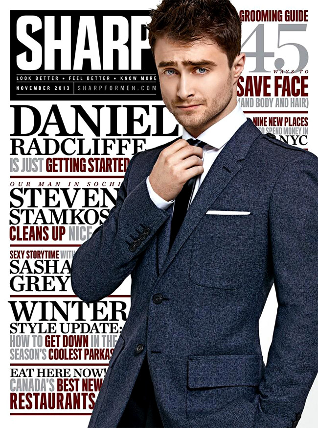 Daniel Radcliffe - the stylish wizard