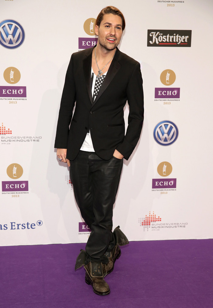 Celebrities' style: David Garrett