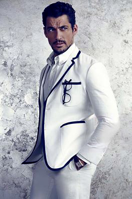 David James Gandy - the best dressed and undressed model