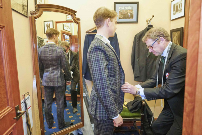 Savile Row tailors: Davies & Son