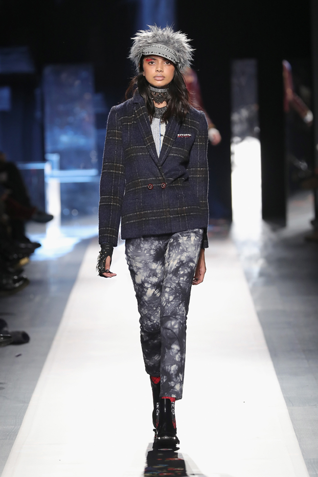 Desigual presented Fall/Winter 2017-2018 collection