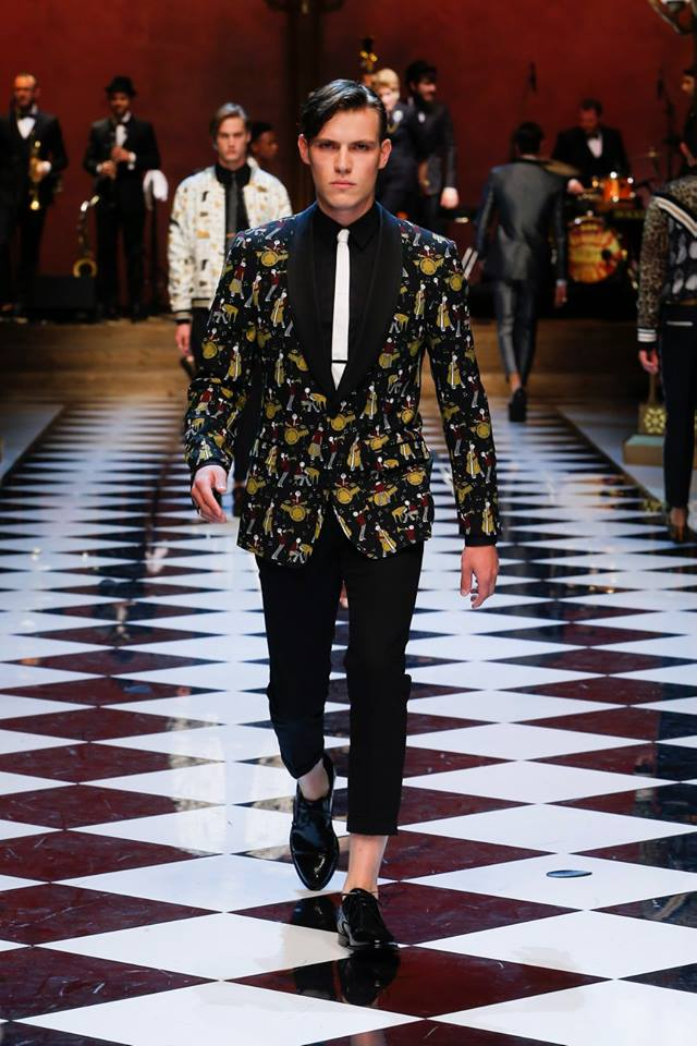 Dolce & Gabbana Spring-Summer 2017 Men's Fashion Show