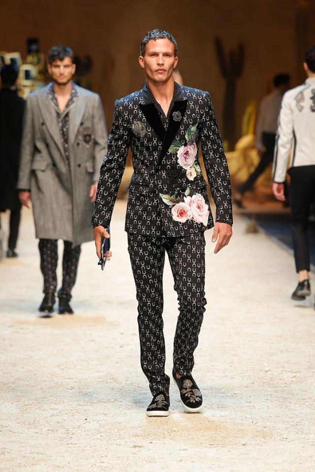 Dolce   Gabbana Fall-Winter 2016 2017 Men s collection 6af5242e10b