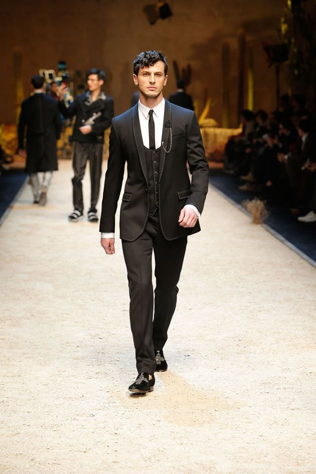 Dolce & Gabbana Fall-Winter 2016/2017 Men's collection