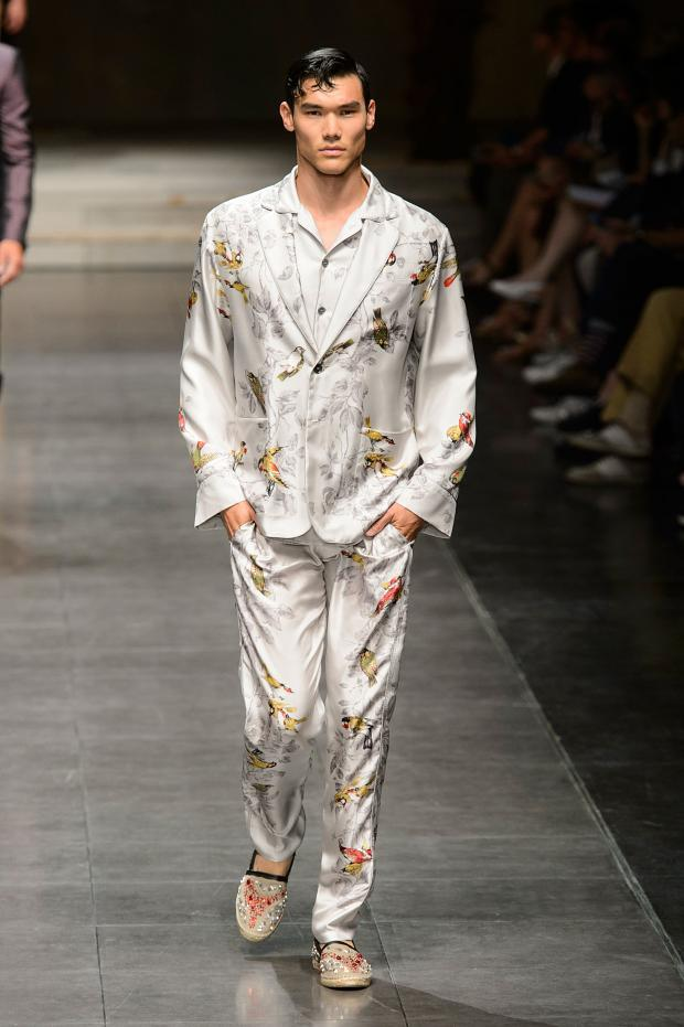Dolce&Gabbana's 'Birds of Paradise' Spring/Summer 2016 collection