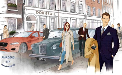Menswear fabrics: Dormeuil Fall-Winter 2016/2017 collections