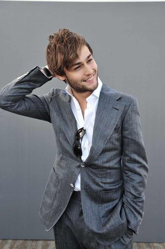 Celebrities' style: Douglas Booth