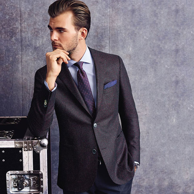 German made-to-measure suits by Eduard Dressler