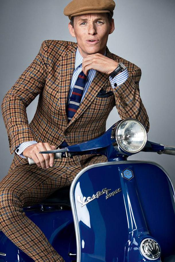Eddie Redmayne - to be dressed in freckles