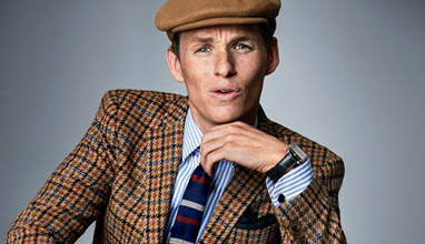 Eddie Redmayne - to be dressed in freckles