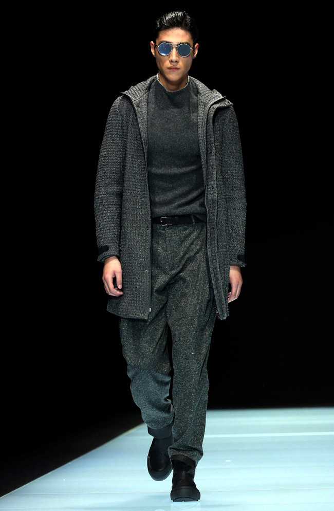 Milan Men's Fashion Week: Emporio Armani Fall-Winter 2016/2017 collection