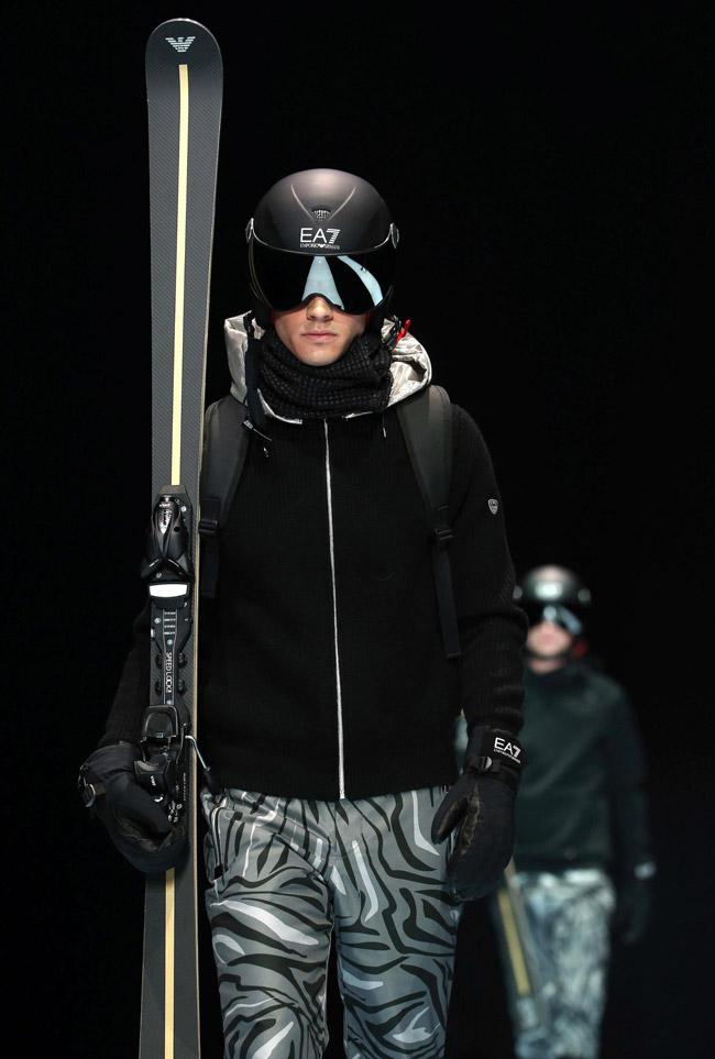 Milan Men's Fashion Week: Emporio Armani Fall-Winter 2016/2017 collection