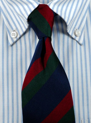 English neckties and faux pas
