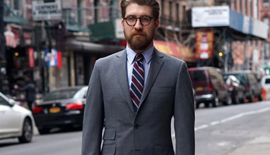 Made-to-order suits and sport coats by Epaulet New York