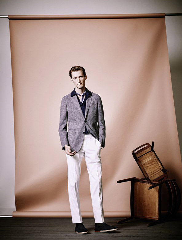 Ermenegildo Zegna Spring-Summer 2017 lookbook