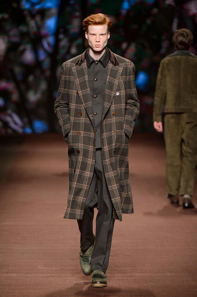 State of nature - Etro Fall/Winter 2016-2017 collection