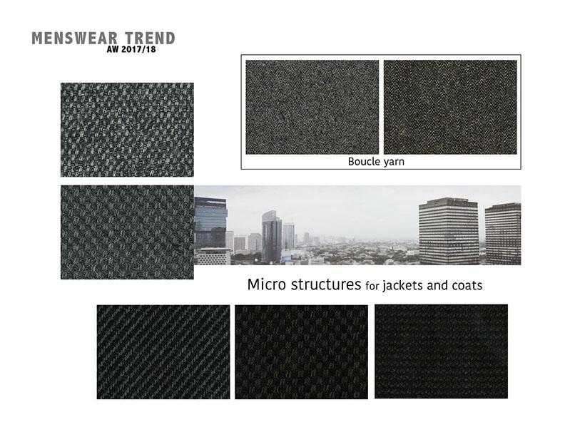 Fall-Winter 2017/2018 menswear trends: Suit Fabrics
