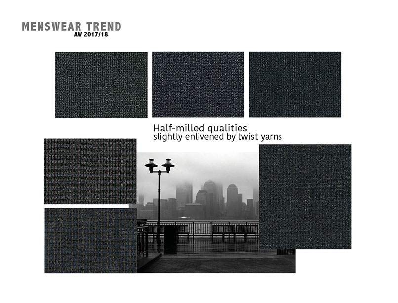 Fall-Winter 2017/2018 menswear trends: Suit Fabrics