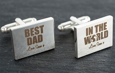 Cufflinks for Father's Day