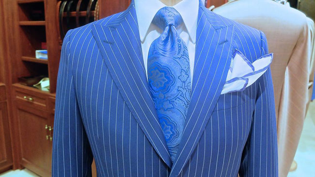 Australian bespoke and made-to-measure suits by John Ferrigamo