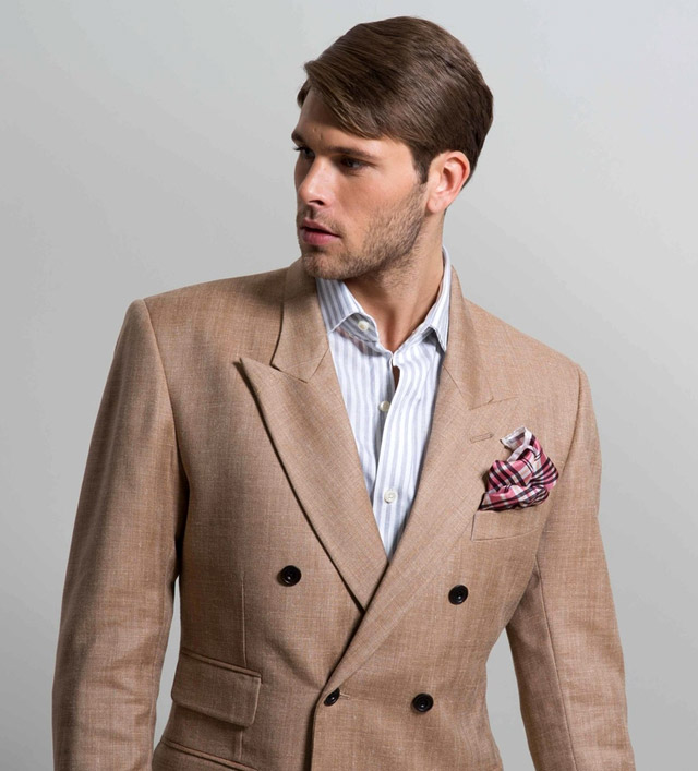 GANDHUM Spring-Summer 2016 men's suit collection