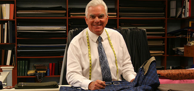 Gary Franzen - bespoke and made-to-measure-suits from Las Vegas