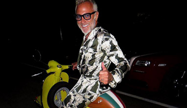 Men's style inspiration by millionaire Gianluca Vacchi