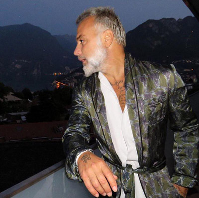 Gianluca Vacchi is the winner in Most Stylish Men August 2016 - Category Business