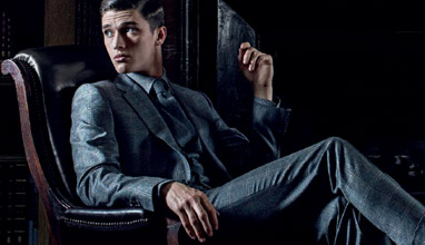 The perfectly fitting handmade Gieves & Hawkes men's suit