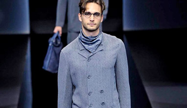 Milano Moda Uomo  Emporio Armani Spring-Summer 2017 men s collection d70c6f070389