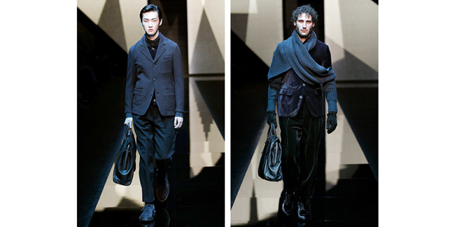 Giorgio Armani Fall/Winter 2017-2018 collection