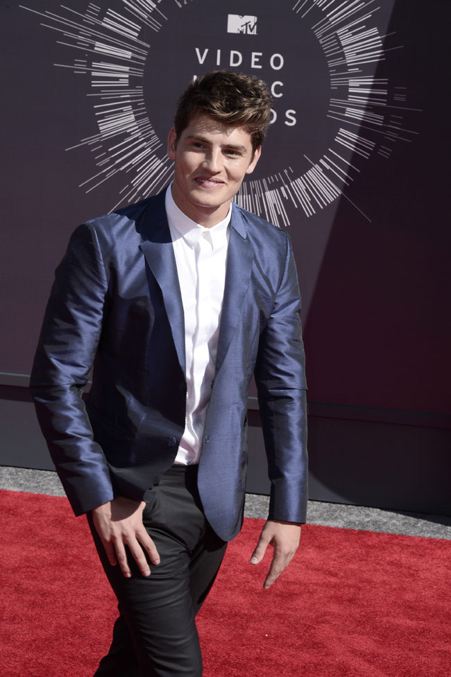 Celebrities' style: Gregg Sulkin