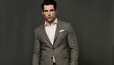 English bespoke suits by Gresham Blake