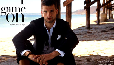 Grigor Dimitrov is the winner in Most Stylish Men April 2016 - Category Sport