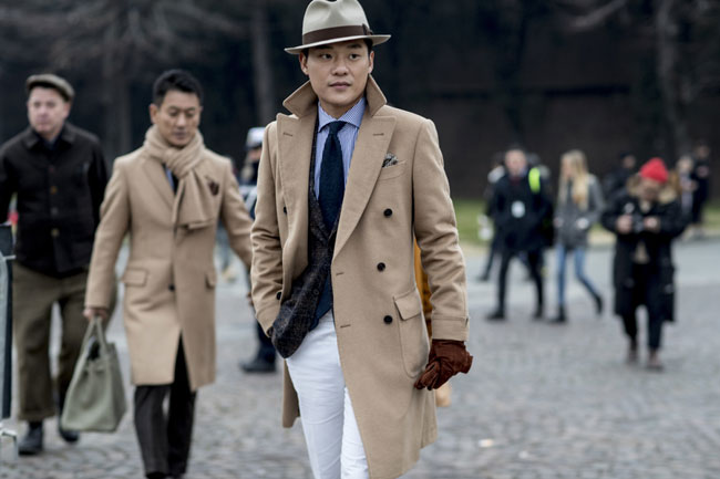 Vincenzo Grillo - one of the photographers of Pitti Uomo 91