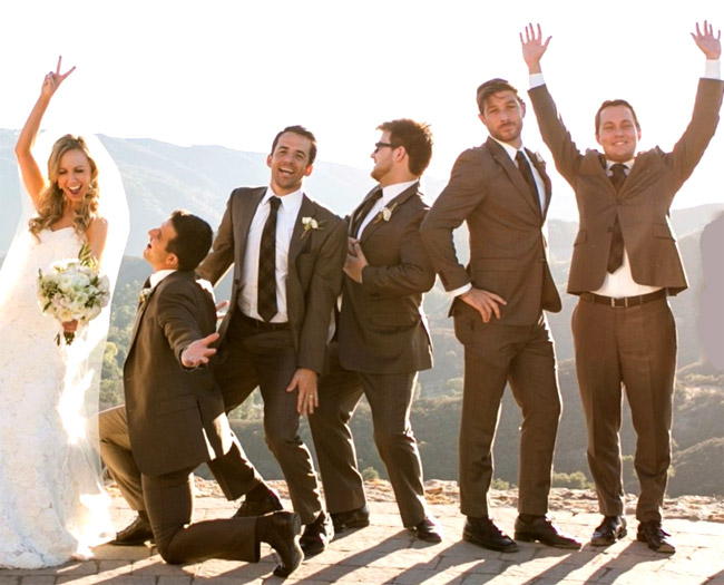 Custom suits for the modern groom from California